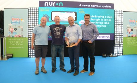 World's first sewer nervous system implementation is up and running!