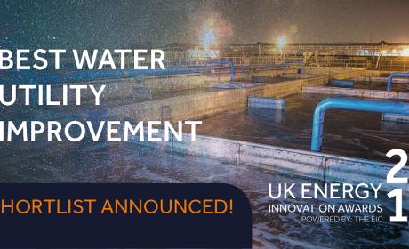 Best water utility improvement UK Energy awards 2019